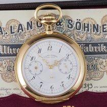A. Lange & Söhne Sehr gut Gelbgold 54mm Handaufzug Deutschland, Berlin