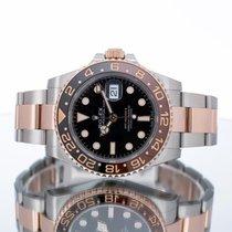 Rolex GMT-Master Gold/Steel 40mm Black