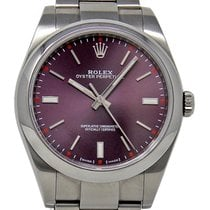 Rolex Oyster Perpetual 39 Steel 39mm Red United States of America, Florida, Miami
