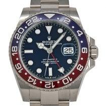 Rolex GMT-Master II White gold 40mm Blue