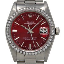 Rolex Oyster Perpetual Date Steel 34mm Red United States of America, Florida, 33132