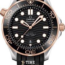 Omega Seamaster Diver 300 M 210.22.42.20.01.002 Nové Zlato/Ocel 42mm Automatika