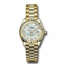 Rolex Lady-Datejust nuevo Automático Reloj con estuche y documentos originales 279178