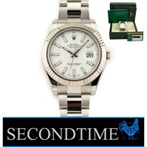Rolex Datejust II Steel 41mm White No numerals United States of America, Florida, Hollywood