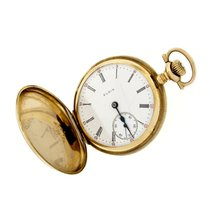 Elgin Watch pre-owned 1910 Yellow gold 39.8mm Roman numerals Manual winding Watch only