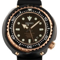 Seiko Marinemaster Titanium 48mm Black No numerals United States of America, Florida, Hollywood