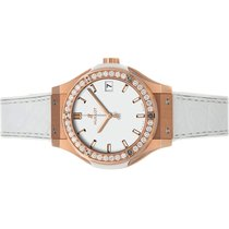 Hublot Classic Fusion Quartz Rose gold 33mm White No numerals United States of America, New York, Greenvale