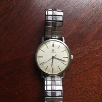Omega Genève Steel 34mm Champagne No numerals United States of America, Minnesota, Waverly