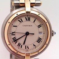 Cartier Cougar Acier 30mm Blanc Romains