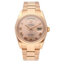 Rolex 118205 Or rose Day-Date 36 36mm nouveau