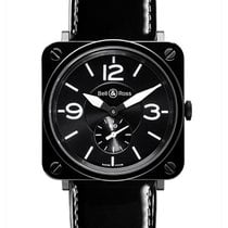 Bell & Ross Женские часы BR S 39mm Кварцевые новые Часы с оригинальными документами и коробкой 2019