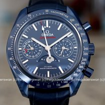 Omega Speedmaster Professional Moonwatch Moonphase Keramika Plav-modar Bez brojeva