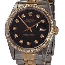 Rolex Datejust Gold/Steel 36mm Black United States of America, Florida, Plantation