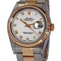 Rolex Datejust Gold/Steel 36mm White Roman numerals United States of America, Florida, Plantation