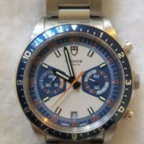 Tudor Heritage Chrono Blue pre-owned 42mm Blue Chronograph Date Steel