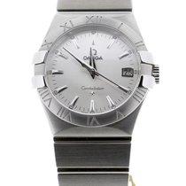 Omega Constellation Quartz nuevo Cuarzo Reloj con estuche y documentos originales 123.10.35.60.02.001