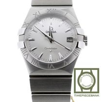 Omega Constellation Quartz Staal 35mm Zilver