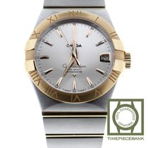 Omega Constellation Men Or/Acier 38mm Argent