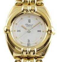 Chopard Gstaad Yellow gold 24mm White Roman numerals United States of America, New York, Greenvale