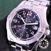 Breitling Colt GMT Steel Black Arabic numerals United States of America, New York, New York