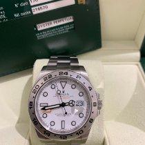 Rolex Explorer II Steel 42mm White No numerals