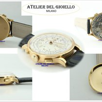 Rolex Chronograph Geelgoud 35mm Wit
