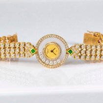 Chopard Happy Diamonds Very good Yellow gold 22mm Quartz