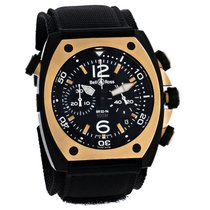 Bell & Ross BR 02 new Automatic Chronograph Watch only BR02-94