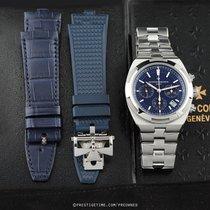 Vacheron Constantin Overseas Chronograph pre-owned 42.5mm Blue Chronograph Date Steel