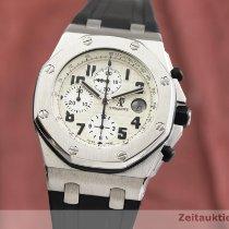 Audemars Piguet Royal Oak Offshore Chronograph Acier 43mm Blanc