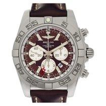 Breitling Chronomat 44 GMT Staal 47mm Bruin