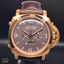 Panerai Rose gold Manual winding Brown Arabic numerals 47mm pre-owned Special Editions