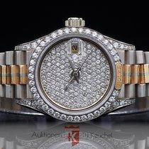 Rolex Lady-Datejust Oro bianco 26mm Bianco Senza numeri