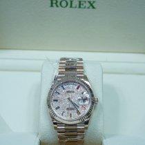 Rolex Day-Date 36 Rose gold 36mm No numerals