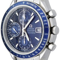 Omega Speedmaster Date Steel 38mm Blue No numerals United States of America, Texas, Dallas