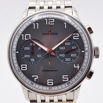 Junghans Meister Driver 027/3686.44 Very good Steel 40.8mm Automatic