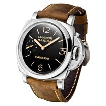 Panerai Luminor Marina 1950 3 Days PAM 00422 Nuevo Acero 47mm Cuerda manual