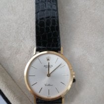 Rolex Cellini Yellow gold 32mm White No numerals