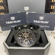 TAG Heuer Carrera Heuer-02T CAR5A8W.FT6071 Sehr gut Carbon 45mm Automatik
