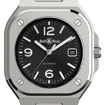 Bell & Ross Steel 40mm Automatic BR05A-BL-ST/SRB new