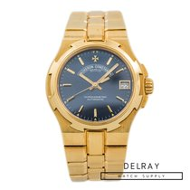 Vacheron Constantin Yellow gold Automatic 35mm pre-owned Overseas