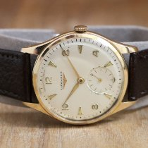 Longines Yellow gold 35mm Manual winding pre-owned