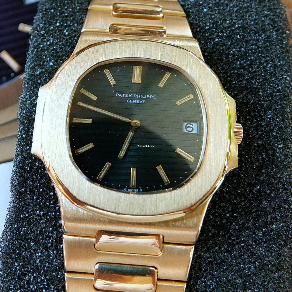 Patek Philippe Nautilus 3700/1 Gelbgold Nautilus 1979 sofort 1979 gebraucht