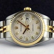 Rolex Plata Plata 26mm usados Lady-Datejust
