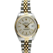 Rolex Silver Silver 26mm pre-owned Lady-Datejust