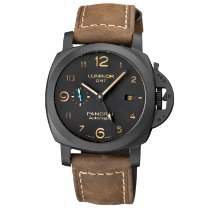 Panerai Luminor 1950 3 Days GMT Automatic Ceramic 44mm Black Arabic numerals United States of America, New York, NY