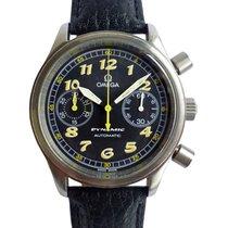 Omega Dynamic Chronograph Ocel Černá Arabské