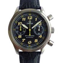 Omega Dynamic Chronograph Steel Black Arabic numerals United Kingdom, Westhoughton