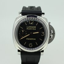Panerai Luminor Marina 1950 3 Days Staal 47mm Zwart Arabisch