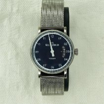Meistersinger new Automatic Display back 38mm Steel Sapphire crystal
